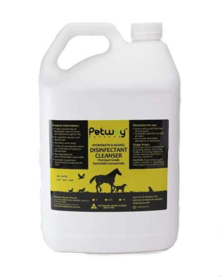 PETWAY 5 LTR DISINFECTANT CLEANSER