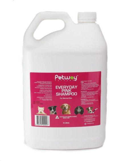 PETWAY 5 LTR SHAMPOO EVERYDAY PINK