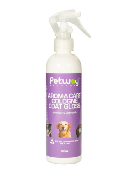 PETWAY AROMA CARE COLOGNE COAT GLOSS  250mls