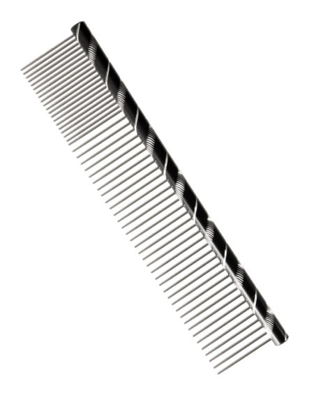 SMART COAT COMB BLACK L/PIN COARSE / FINE POODLE