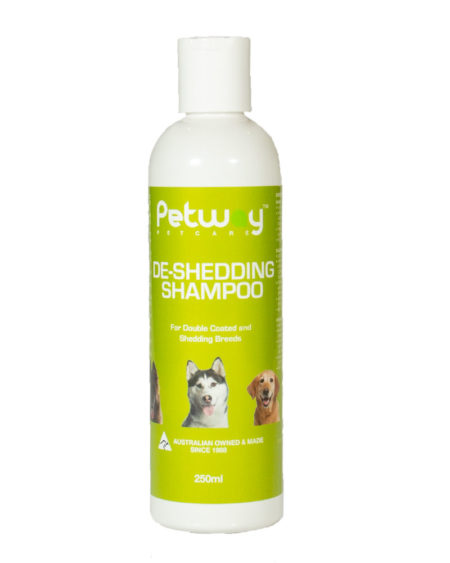 PETWAY DE SHEDDING SHAMPOO  250mls