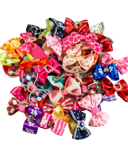 SMART COAT BOWS MULTI COLOUR 50PK