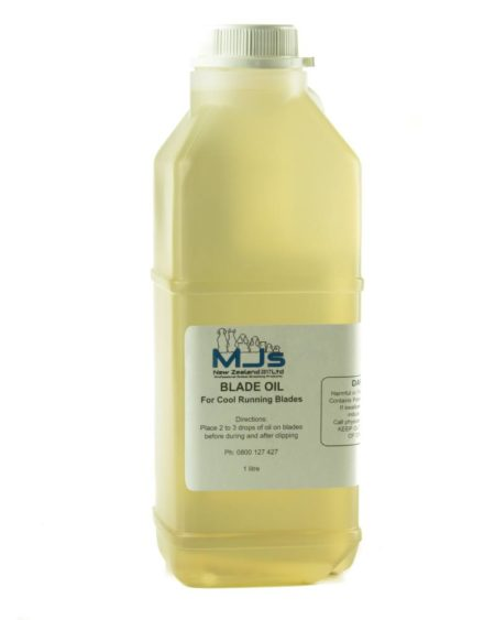 MJS BLADE OIL 1 LITRE BOTTLE