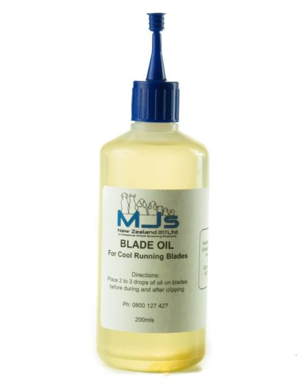 MJS BLADE OIL 200 ML BOTTLE