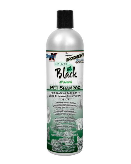 DOUBLE K SHAMPOO EMERALD BLACK 473 mls