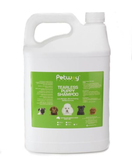 PETWAY 5 LTR SHAMPOO TEARLESS PUPPY