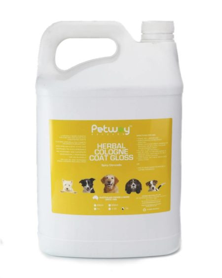 PETWAY 5 LTR COLOGNE COAT GLOSS HERBAL