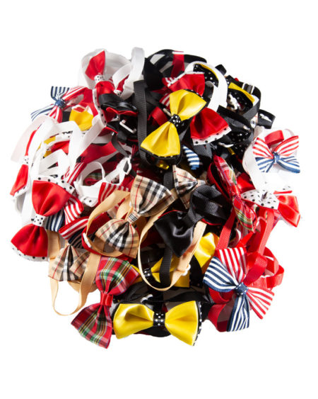 SMART COAT BOW TIES MULTI COLOUR 25PK