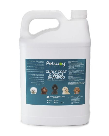 PETWAY 5 LTR SHAMPOO CURLY COAT & OODLE