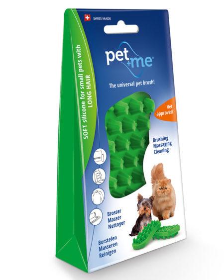 PETWAY PET + ME BRUSH SOFT GREEN