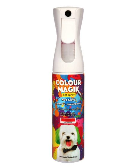 PETWAY COLOUR MAGIK SPRAY NATURAL RED