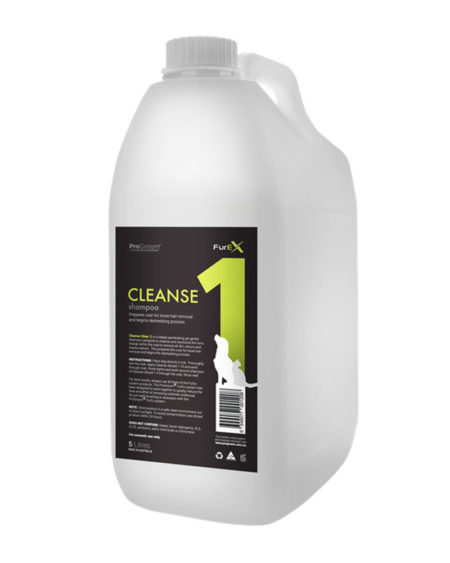 PROGROOM 5 LTR FUREX STEP 1 CLEANSE SHAMPOO