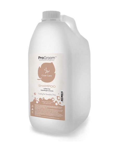 PROGROOM 5 LTR COAT CARE  SHAMPOO