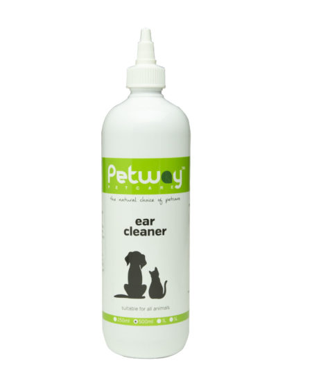 PETWAY PETCARE EAR CLEANER 500MLS