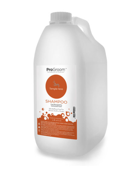 PROGROOM 5 LTR TANGLE LESS SHAMPOO
