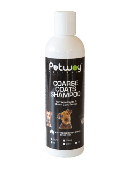 PETWAY 250 ML SHAMPOO COARSE COATS