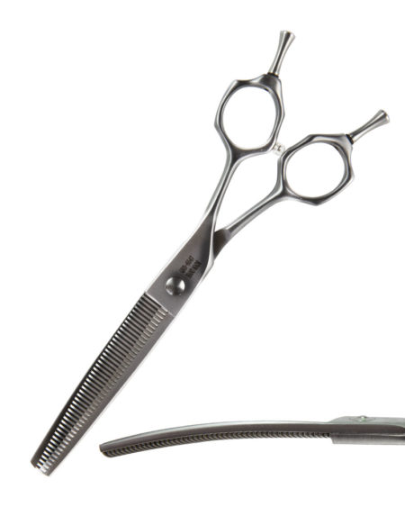 FUSION SCISSORS CURVED BLENDER 47 TOOTH 6.5