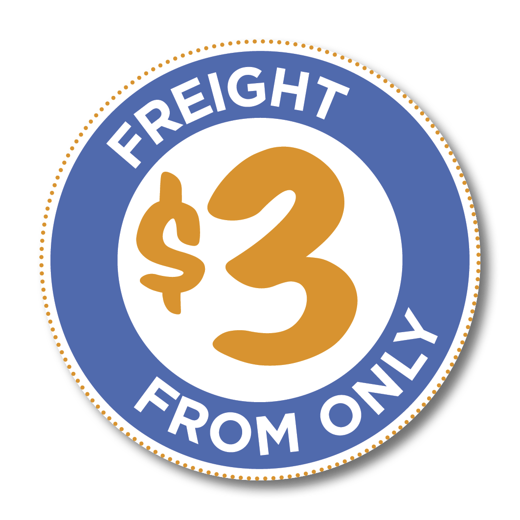 Freight from $3
