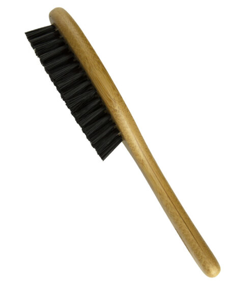 FINECRAFT BAMBOO HANDLE NATURAL SINGLE SIDED BRISTLE BRUSH