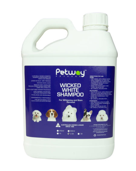 PETWAY WICKED WHITE WHITENING 2.5 ltr