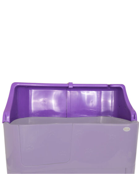 SMARTCOAT BACK SPLASH PURPLE BATH