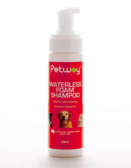 PETWAY 200 ML  SHAMPOO WATERLESS FOAM