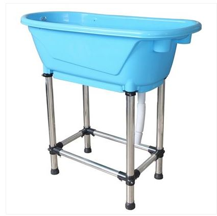 SMARTCOAT PLASTIC BATH TUB (SMALL)BLUE