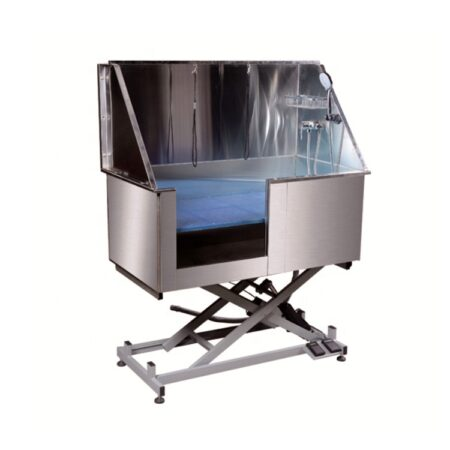 GROOM U ME ELECTRIC LIFT STAINLESS STEEL BATH