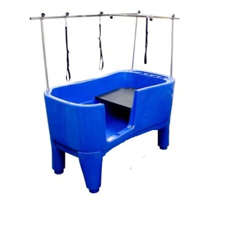 SMARTCOAT PAW PRINT PLASTIC  BATH BLUE