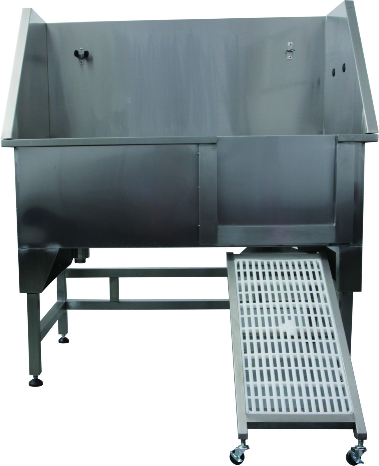 AEOLUS STAINLESS STEEL BATH WITH SWING RAMP + FREE PRODUCTS VALUED @ $105.36+