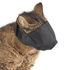 SMART COAT CAT MUZZLE BLACK LARGE