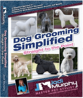 DOG GROOMING SIMPLIFIED BY JODI MURPHY BOOK