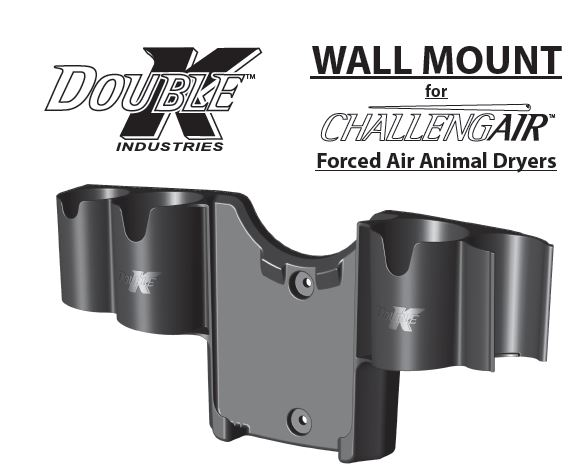 DOUBLE K WALL MOUNT BRACKET